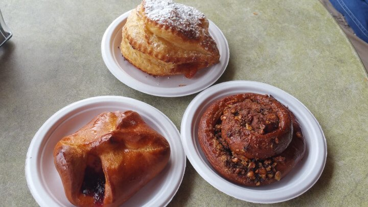 Pastries at HHI Social Bakery