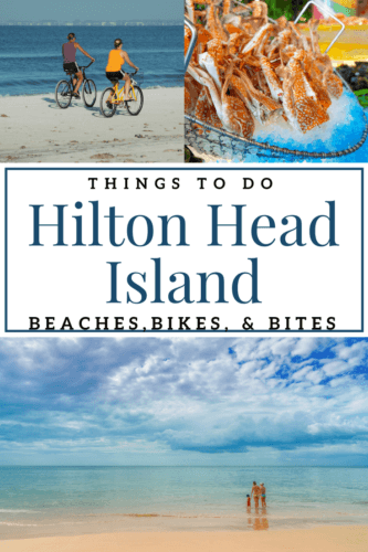 Hilton Head Island, SC things beach getaway is a family favorite. Some of our favorite things to do include hitting the beaches, riding bikes, and of course all the amazing Hilton Head Island restaurants.