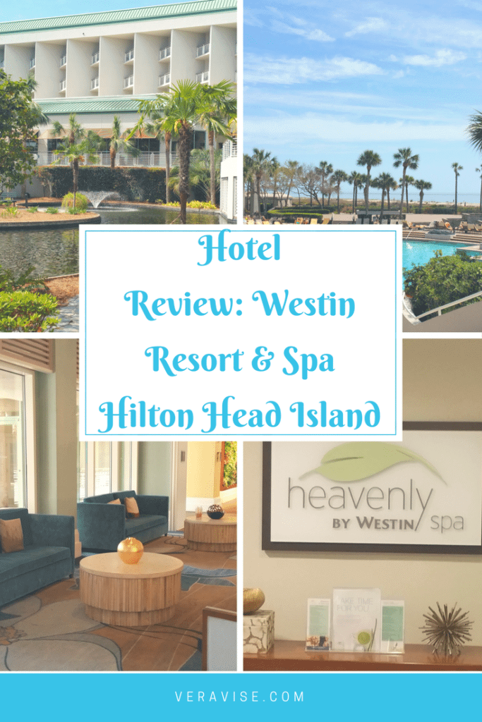 Pinterest Image for Hotel Review of Westin Resort & Spa in HHI, SC