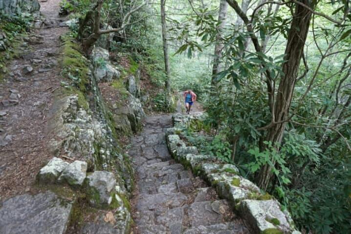 hiking backbone rock