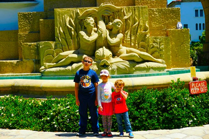 Santa Barbara with kids