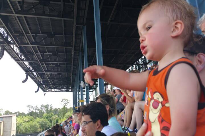 Image of child enjoying WDW