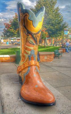 Boots of Cheyenne, Wyoming