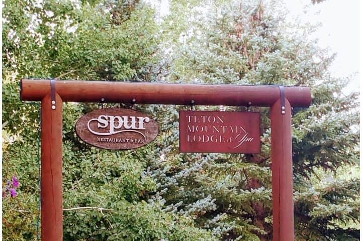Spur Restaurant Sign
