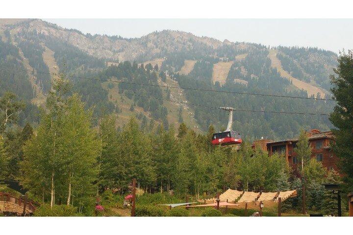 Teton Village Ski Lifts Fall