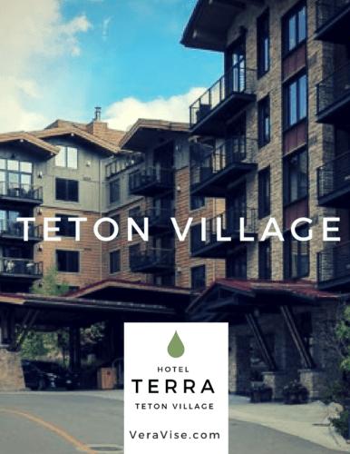 The Magnificent Hotel Terra in Teton Village