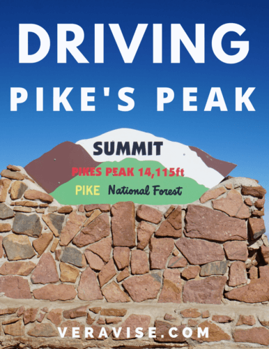 Driving Pike's Peak Pinterest