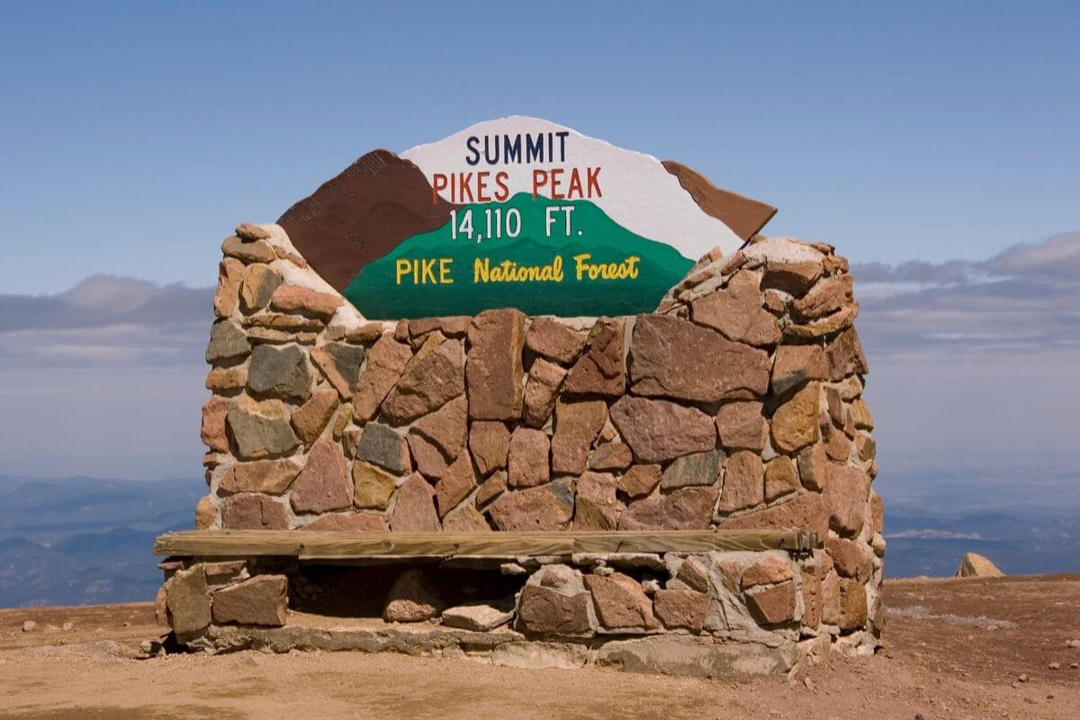 Pike's Peak Colorado 14er