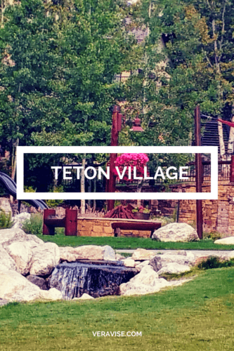 Teton Village Courtyard Jackson Hole, WY