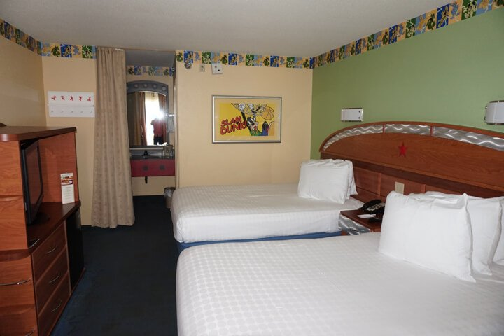 Disney's All-Star Resort Room