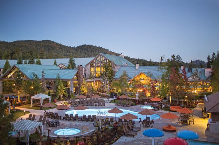 Tenaya Lodge Pools and Front