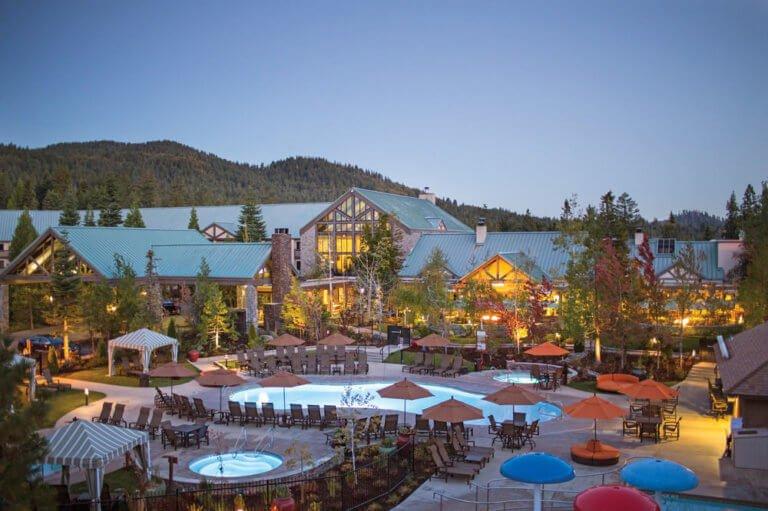 Tenaya Lodge Pools and Front