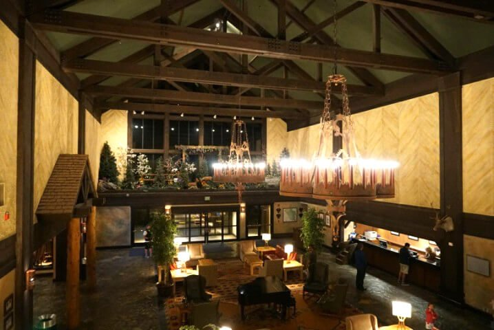 Lobby of Tenaya Lodge