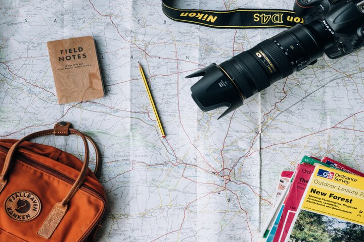 Map Camera Travel Guides
