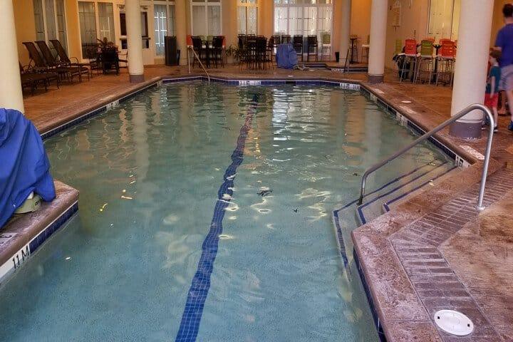 Indoor Pool Marriott Baronay Bay