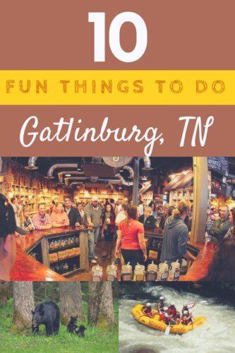 10 Fun Things in Gatlinburg