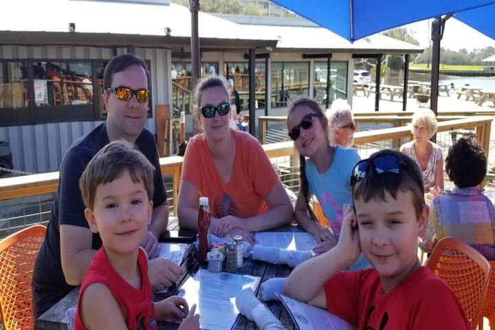 Family at Hudsons