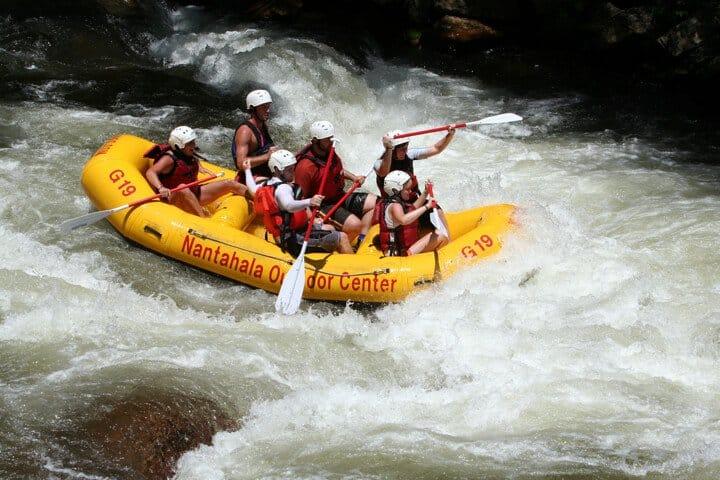 Rafting Pigeon River Gatlingburg