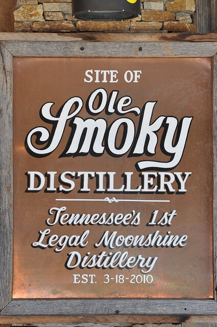 Ole Smoky Distillery Sign