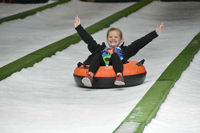 Pigeon Forge Indoor Snow Tubing