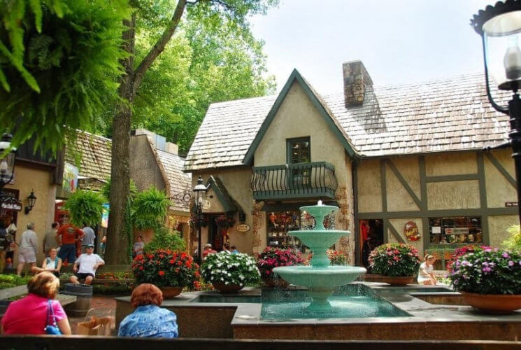 Gatlinburg Village Shops Fountain