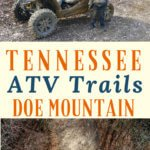 Doe Mountain ATV Trails located in Mountain City, TN offers 8600 acres of wilderness with over 50 miles of blazed trails for ATVs, Mountain Bikes, Horses, and Hiking