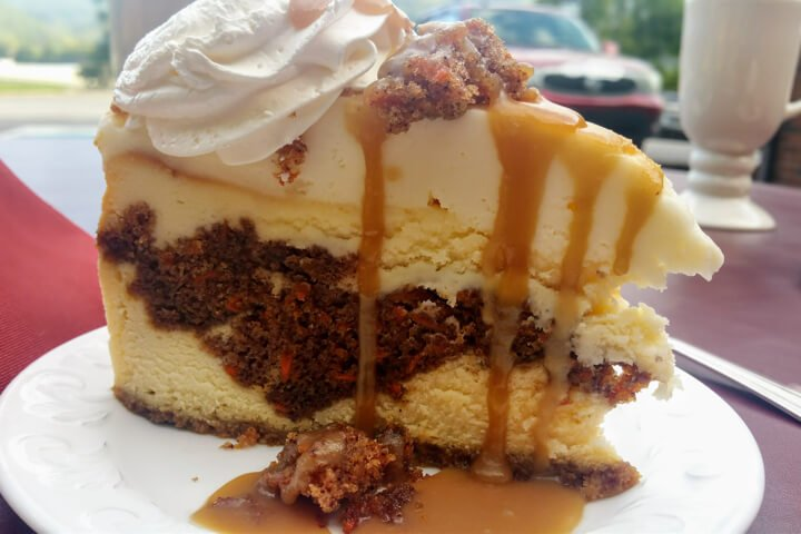 Suba's Carrot cake Cheesecake