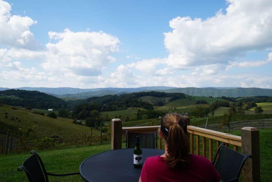 Watauga Winery Vista