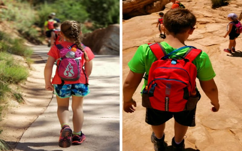 Camelback Mini MULE and Camelbak Scout