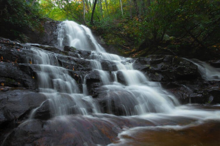 Laurel Falls Gatlinburg by THOMAS