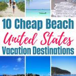 Cheap Beaches in the US