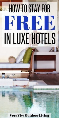 luxury hotels for free
