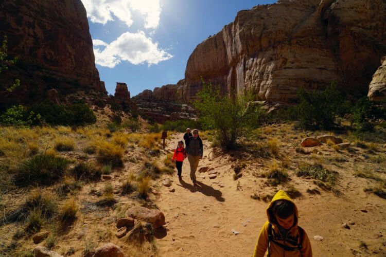 Capitol Reef National Park Hiking