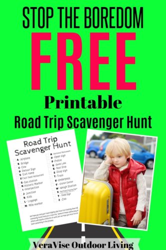 Free Road Trip Scavenger Hunt