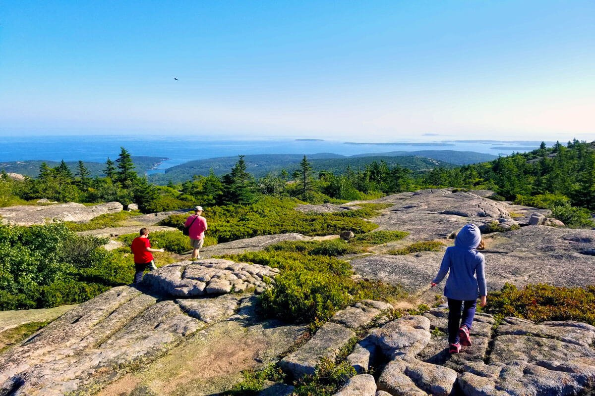 Acadia National Park Easy Hikes
