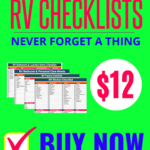 RV Trip Planner Checklist