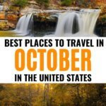 October travel in the US