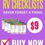 RV CHECKLISTS