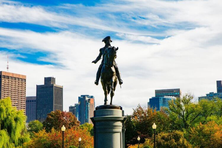 Boston, MA in October