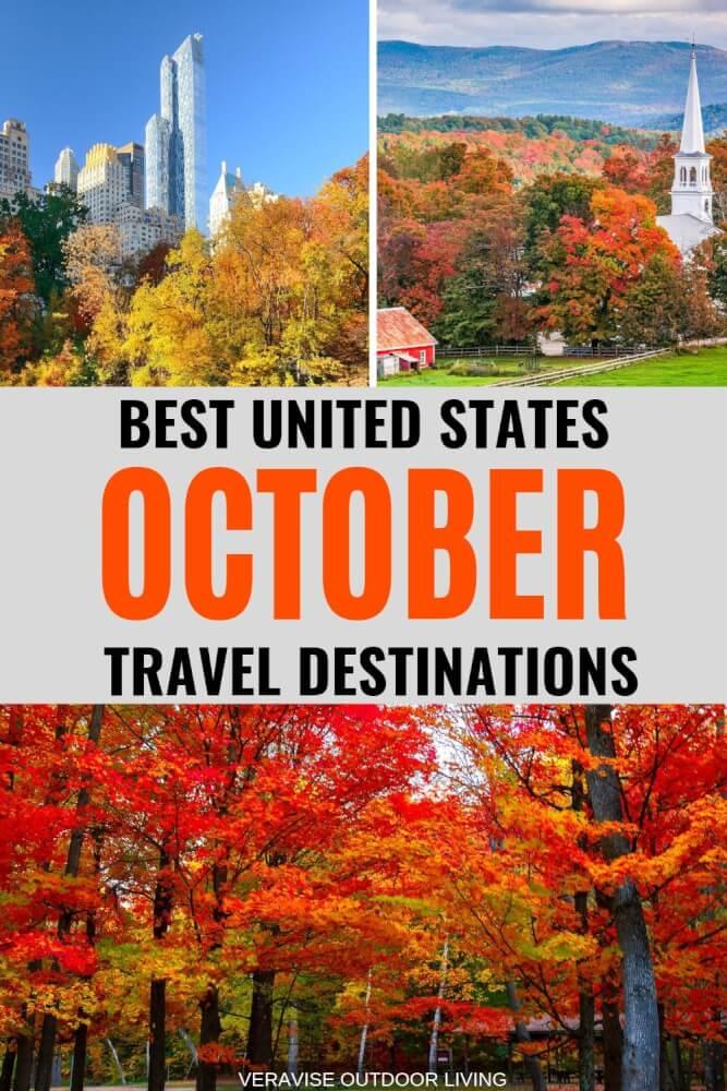 fall family vacations