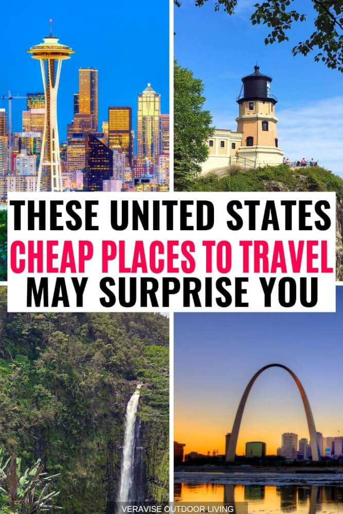 United States Cheap Places To Travel
