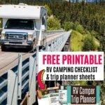 rv printable checklist