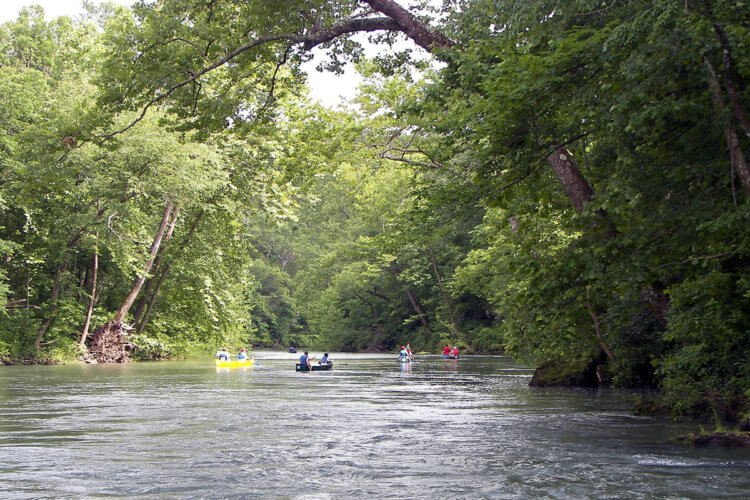 Current River MO float trip