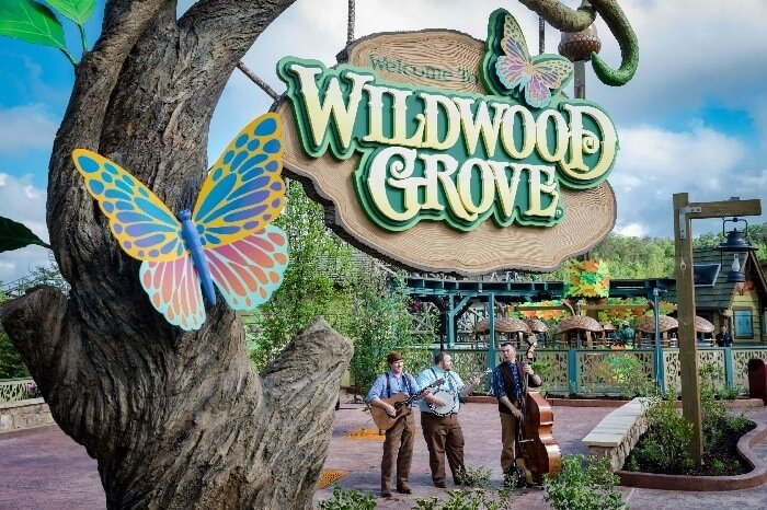 Dollywood Wildwood Grove Entrance Sign