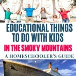 homeschooler's guide to smoky mountains things to do with kids