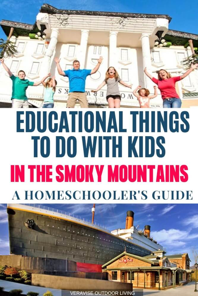 things to do with kids in the smoky mountains for homeschoolers