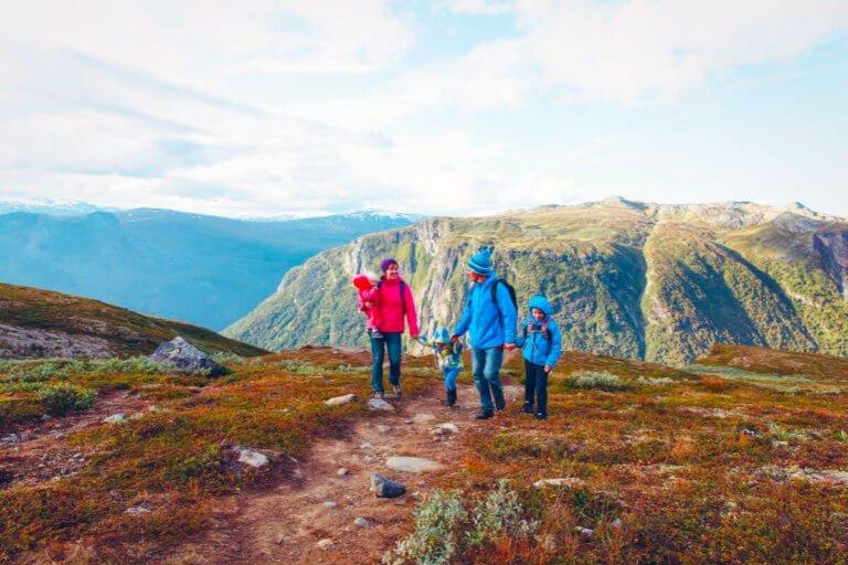 How Do You Hike With Kids?