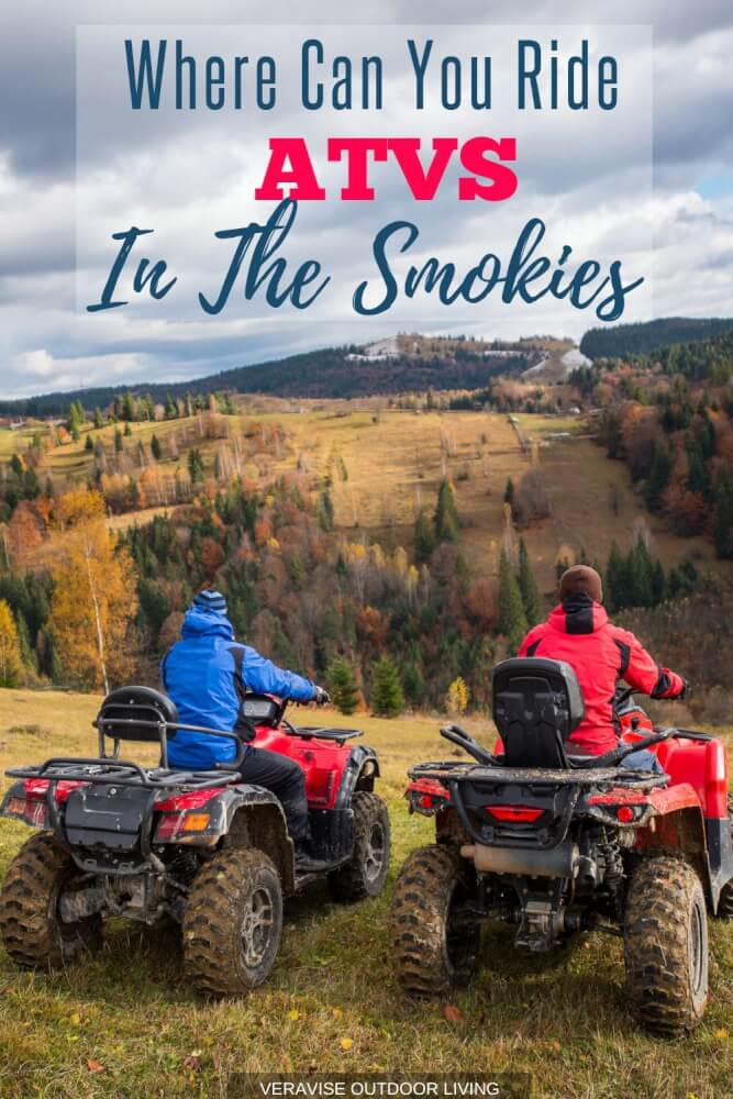 Where to ride ATV trails in the Smoky Mountains