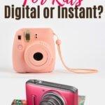instant kids cameras