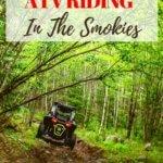 atv riding in the smoky mountains